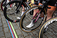 the rainbow race start in Antwerpen<br /> <br /> Women Elite - Road Race (WC)<br /> from Antwerp to Leuven (158km)<br /> <br /> UCI Road World Championships - Flanders Belgium 2021<br /> <br /> ©kramon