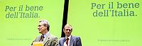 Roma 11 02 2006 Unione:Presentazione del Programma 2006-2011<br /> Nella foto il segretario della Margherita Francesco Rutelli e il segretario dei DS Piero Fassino<br /> Photo Serena Cremaschi Insidefoto