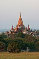 Myanmar, Burma, Bagan.  Ananda Temple, completed 1105.