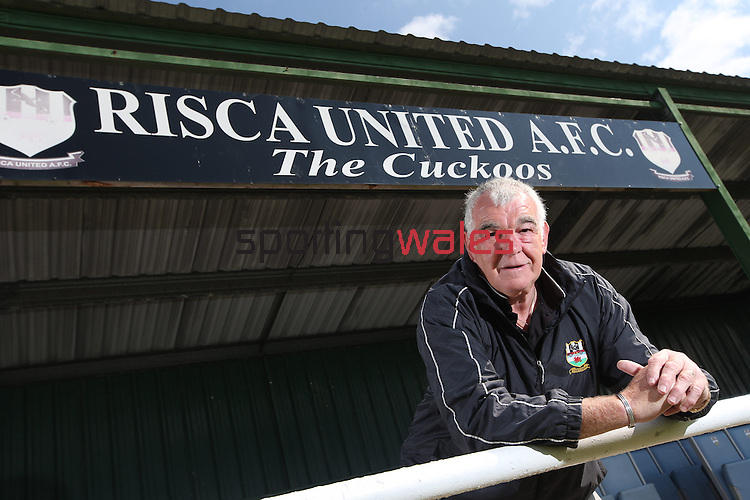 McDonalds Community Football Awards 2014<br /> Stuart Luckwell - Risca United AFC<br /> 06.08.14<br /> ©Steve Pope-SPORTINGWALES