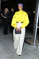 NEW YORK, NY - NOVEMBER 11: Halima Aden at the 2019 Glamour Women of the Year Awards at Alice Tully Hal, Lincoln Center in New York City on November 11, 2019. Credit: RW/MediaPunch