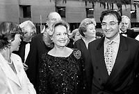 file Photo 1996- Louise Beaudoin, Jeanne Moreau, Martin Cauchon