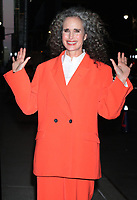 OCT 21 Andie MacDowell At The Late Show With Stephen Colbert