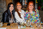Enjoying the evening in Benners on Saturday, l to r: Dawn Rogers, Christine Leahy and Orla Fenix.