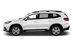 Car driver side profile view of a 2019 Subaru Ascent Limited 5 Door SUV