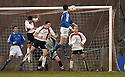 14/01/2006         Copyright Pic: James Stewart.File Name : sct_jspa09_clyde_v_stjohnstone.KEVIN JAMES HEADS HOME ST JOHNSTONE'S THIRD GOAL....Payments to :.James Stewart Photo Agency 19 Carronlea Drive, Falkirk. FK2 8DN      Vat Reg No. 607 6932 25.Office     : +44 (0)1324 570906     .Mobile   : +44 (0)7721 416997.Fax         : +44 (0)1324 570906.E-mail  :  jim@jspa.co.uk.If you require further information then contact Jim Stewart on any of the numbers above.........