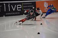 SPEEDSKATING: DORDRECHT: 05-03-2021, ISU World Short Track Speedskating Championships, Heats 500m Ladies, Florence Brunelle (CAN), ©photo Martin de Jong