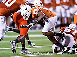 Texas Longhorns running back Foswhitt Whittaker (28) in action during the game between the Oklahoma State Cowboys and the University of Texas in Austin Texas Longhorns at the Daryl K. Royal- Texas Memorial Stadium in Austin, Texas. The Oklahoma State Cowboys defeated the Texas Longhorns 33 to 16.