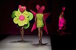 31.08.2012. Models walk the runway in the Agatha  Ruiz de la Prada fashion show during the Mercedes-Benz Fashion Week Madrid Spring/Summer 2013 at Ifema. (Alterphotos/Marta Gonzalez)