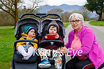 Enjoying a stroll in the Killarney National park on Sunday, l to r: Grace and Tom Kelliher and Tracy Russell.