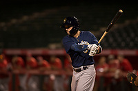Milwaukee Brewers shortstop Nate Orf (6) during a Minor League Spring Training game against the Los Angeles Angels at Tempe Diablo Stadium on March 29, 2018 in Tempe, Arizona. (Zachary Lucy/Four Seam Images)