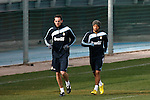 Madrid (02/03/10).-Entrenamiento del Real Madrid..Cristoph Metzelder y Marcelo..© Alex Cid-Fuentes/ ALFAQUI..Madrid (02/03/10).-Training session of Real Madrid c.f..Cristoph Metzelder and Marcelo...© Alex Cid-Fuentes/ ALFAQUI.