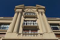 France, Pas-de-Calais (62), Côte d'Opale, Le Touquet: L'Hermitage: Ancienne bergerie du château de Daloz, transformée en hôtel en 1903, puis en palace, à partir de 1908. Il a été sauvé de la destruction en étant, il y a trente-cinq ans, reconverti en résidence.//  France, Pas de Calais, Cote d'Opale (Opal Coast), Le Touquet: The Hermitage: Old barn castle Daloz, converted into a hotel in 1903, then palace from 1908. It was saved from destruction by being there thirty-five years, converted into residence.