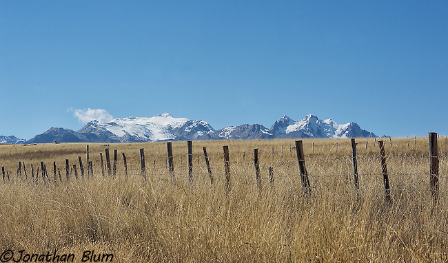 Mountains and Fences 1, Cordillera Blanca, Peru