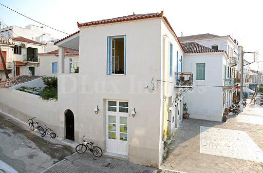 traditional house facade