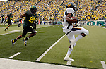 of the game between Oregon and California at Autzen Stadium in Eugene, OR on Saturday Sept. 29, 2007..         Photo by Steve Dykes
