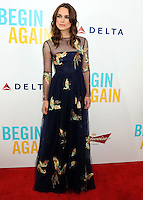 """NEW YORK CITY, NY, USA - JUNE 25: Actress Keira Knightley arrives at the New York Premiere Of The Weinstein Company's """"Begin Again"""" held at the SVA Theatre on June 25, 2014 in New York City, New York, United States. (Photo by Celebrity Monitor)"""