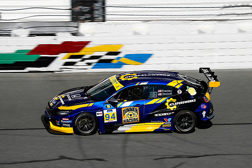 #94 Atlanta Speedwerks Honda Civic FK7 TCR, TCR: Todd Lamb, Greg Strelzoff, Ryan Eversley