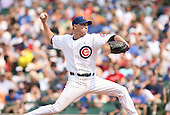 Michael Wuertz of the Chicago Cubs vs. the San Diego Padres: June 18th, 2007 at Wrigley Field in Chicago, IL.  Photo copyright Mike Janes Photography 2007.