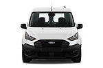 Car photography straight front view of a 2019 Ford Transit-Connect XL 5 Door Car Van Front View