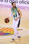 League ACB-ENDESA 2020/2021.Game 15.<br /> FC Barcelona vs Club Joventut Badalona: 88-74.<br /> Pau Ribas.