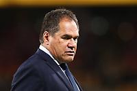 17th July 2021; Brisbane, Australia;  Wallabies Coach Dave Rennie looks on during the Australia versus France, 3rd Rugby Test at Suncorp Stadium, Brisbane, Australia on Saturday 17th July 2021.