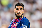Luis Suarez of FC Barcelona reacts during their Supercopa de Espana Final 2nd Leg match between Real Madrid and FC Barcelona at the Estadio Santiago Bernabeu on 16 August 2017 in Madrid, Spain. Photo by Diego Gonzalez Souto / Power Sport Images