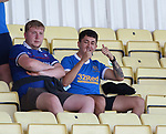 17.07.2021 Rangers B v Bo'ness Utd: Rangers fans