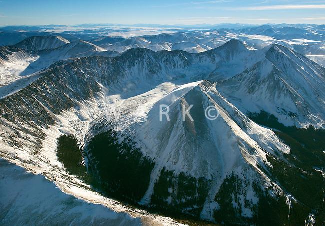 Kelso Mountain, Colorado. Dec 15, 2013