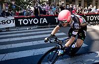 Alberto Bettiol (ITA/EF Education - Nippo)<br /> <br /> 104th Giro d'Italia 2021 (2.UWT)<br /> Stage 21 (final ITT) from Senago to Milan (30.3km)<br /> <br /> ©kramon