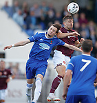 18.07.18 Cove Rangers v Hearts:  Cammy Milne and Olly Lee