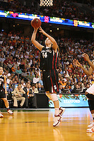 8 April 2008: Stanford Cardinal Kayla Pedersen during Stanford's 64-48 loss against the Tennessee Lady Volunteers in the 2008 NCAA Division I Women's Basketball Final Four championship game at the St. Pete Times Forum Arena in Tampa Bay, FL.
