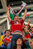 A man reacts in the UEFA EURO 2016 fan zone set up in the Principality Stadium, Cardiff, Wales, Britain, 6 July 2016, watching Portugal vs Wales EURO 2016 semi-final match. Athena Picture Agency/ALED LLYWELYN/ATHENA PICTURES