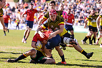 Spain's Guillaume Rouet during Rugby Europe Championship 2017 match between Spain and Belgium in Madrid. March 18, 2017. (ALTERPHOTOS/Borja B.Hojas) /NORTEPHOTO.COM
