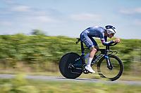 Silvan Dillier (SUI/Alpecin-Fenix)<br /> <br /> Stage 20 (ITT) from Libourne to Saint-Émilion (30.8km)<br /> 108th Tour de France 2021 (2.UWT)<br /> <br /> ©kramon