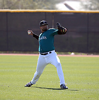 Isaiah Campbell - Seattle Mariners 2020 spring training (Bill Mitchell)