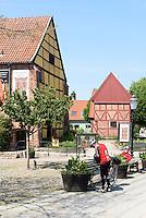 Franziskanerkloster, Ystad, Provinz Skåne (Schonen), Schweden, Europa<br /> Franciscan convent Stortorget  in Ystad, Sweden