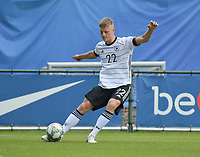 German Jannis Lang (22)  pictured during a friendly soccer game between the national teams Under19 Youth teams of Belgium and Germany on tuesday 8 th of September 2020  in Genk , Belgium . PHOTO SPORTPIX.BE | SPP | DIRK VUYLSTEKE
