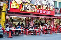 Sidewalk Restaurant, Ipoh, Malaysia.