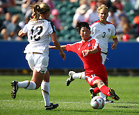Korean Republic's Yun Hyon Hi. USA v Korea Republic. FIFA U-17 Women's World Cup Final. North Harbour Stadium, Auckland, Sunday 16 October 2008. Photo: Simon Watts/PHOTOSPORT