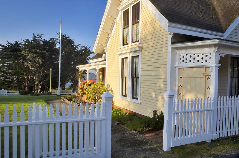 Kelly House. Mendoceno. California