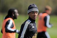 Raheem Hanley during the Swansea City FC training at Fairwood, Swansea, Wales, UK on Wednesday 04 May 2016