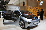 """December 30, 2011, Tokyo, Japan - BMW's """"i3 Concept"""" car is displayed at the 42nd Tokyo Motor Show. The show opens to the general public from December 3-11. (Photo by Christopher Jue/AFLO)"""