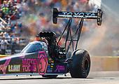 NHRA Mello Yello Drag Racing Series<br /> AAA Texas NHRA FallNationals<br /> Texas Motorplex<br /> Ennis, TX USA<br /> Saturday 14 October 2017 Antron Brown, Matco Tools, top fuel dragster<br /> <br /> World Copyright: Mark Rebilas<br /> Rebilas Photo