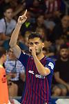 League LNFS 2018/2019.<br /> PlayOff Final. 1er. partido.<br /> FC Barcelona Lassa vs El Pozo Murcia: 7-2.<br /> Esquerdinha.