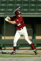 23 February 2006: Stephen Brown during practice at Sunken Diamond in Stanford, CA.