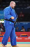 Tony Walby, London 2012 - Para Judo // Parajudo.<br /> Tony Walby competes in the Preliminary Round of the +100kg category // Tony Walby participe au Tour Préliminaire de la catégorie +100kg. 09/01/2012.