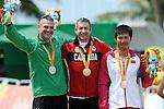 Tristen Chernove, Rio 2016 - Para Cycling // Paracyclisme.<br /> Tristen Chernove wins gold in the Para Cycling Time Trial Men's C2 // Tristen Chernove remporte la médaille d'or au contre-la-montre masculin de paracyclisme C2. 14/09/2016.