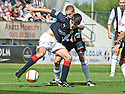 07/08/2010   Copyright  Pic : James Stewart.sct_jsp006_falkirk_v_dunfermline  .::  RYAN FLYNN HOLDS OFF CALLUM WOODS  ::  .James Stewart Photography 19 Carronlea Drive, Falkirk. FK2 8DN      Vat Reg No. 607 6932 25.Telephone      : +44 (0)1324 570291 .Mobile              : +44 (0)7721 416997.E-mail  :  jim@jspa.co.uk.If you require further information then contact Jim Stewart on any of the numbers above.........