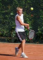 09-08-10, Tennis, Lisse, NJK 12 tm 18 jaar, John Veerman
